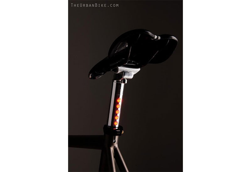 Bicycle led lighskin Seatpost