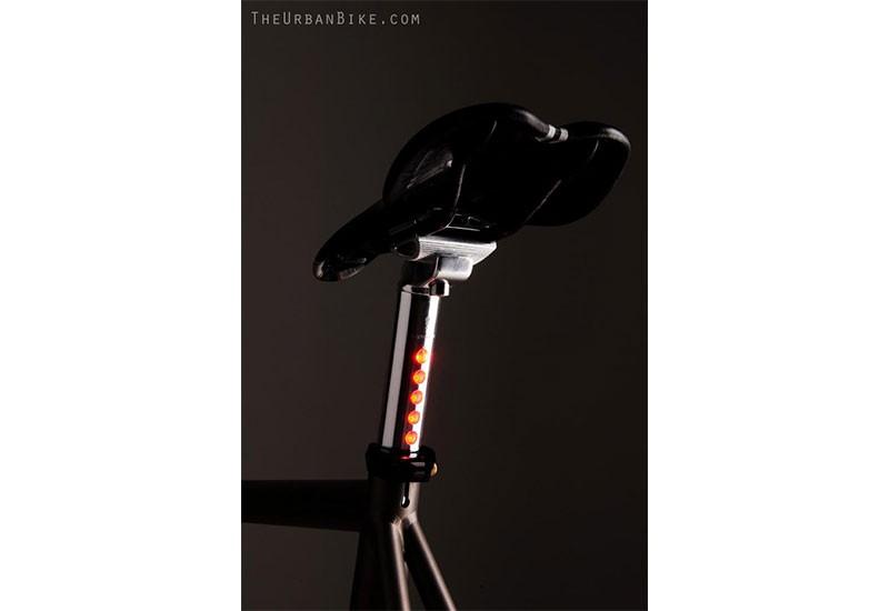 Bicycle led lighskin Seatpost