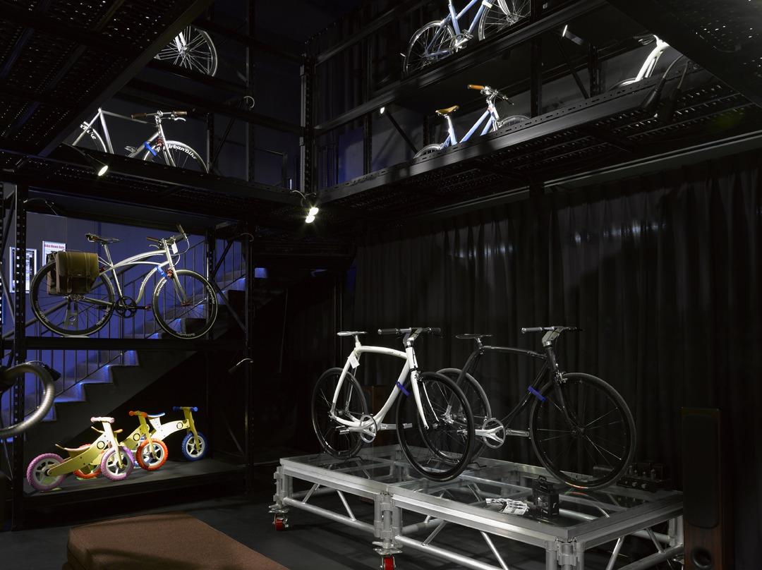 The urban bike showroom