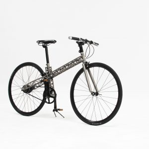 The urban bike T bike titanium