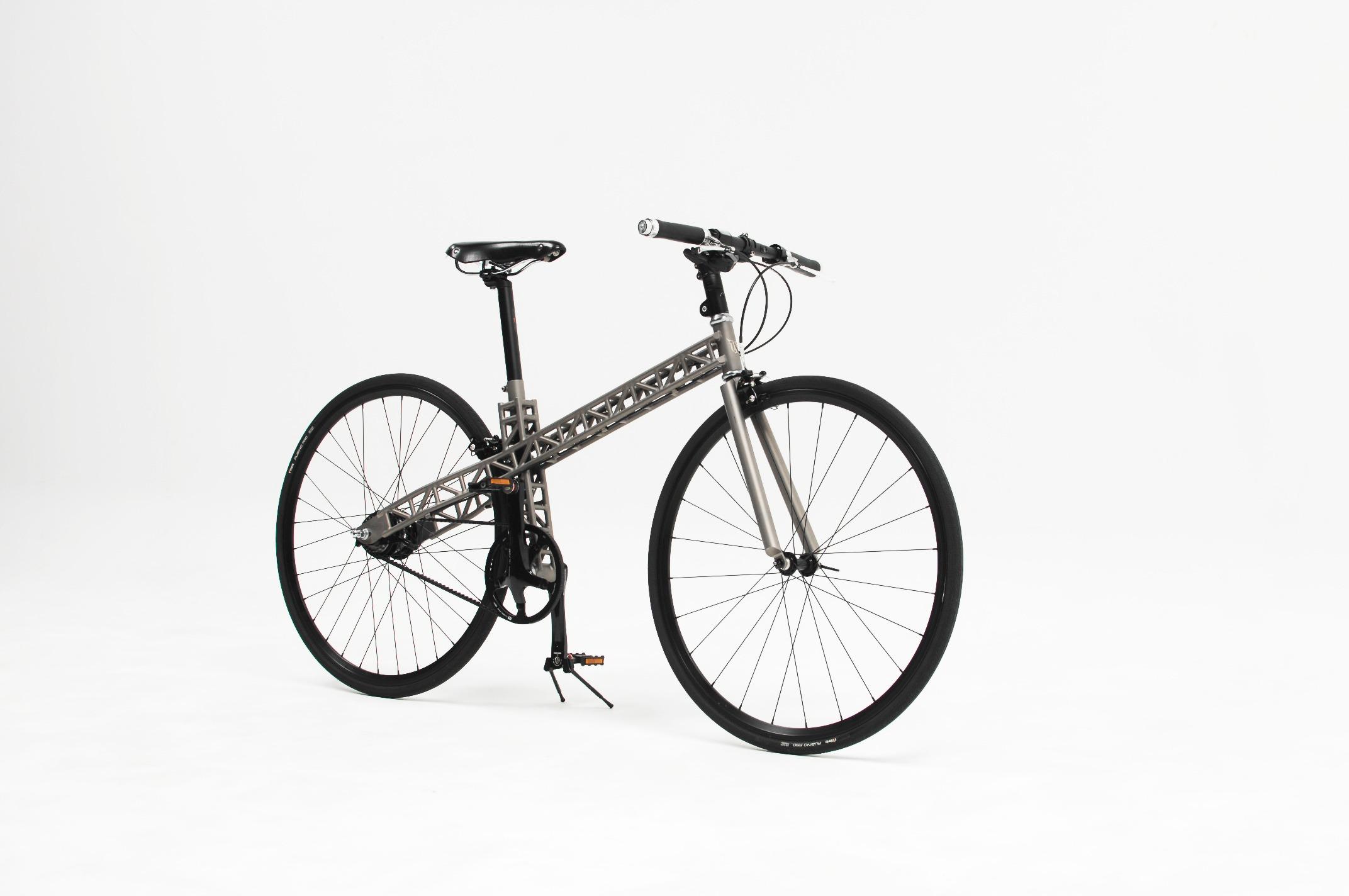 The urban bike T bike titanium