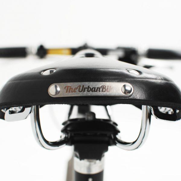 bicycle leather saddle