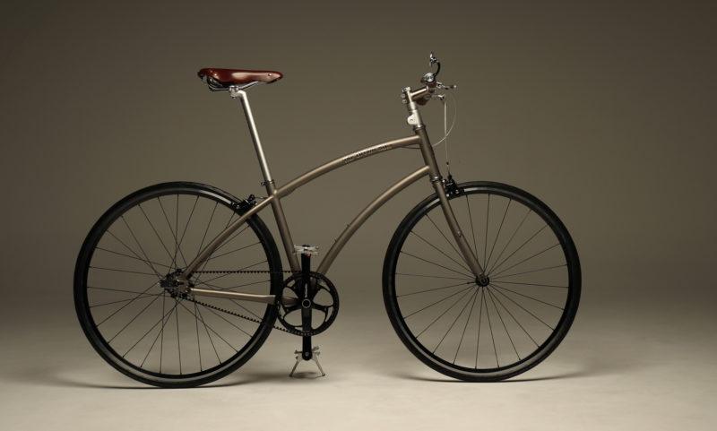 The Urban Bike City Rider Titanium CT 3.3