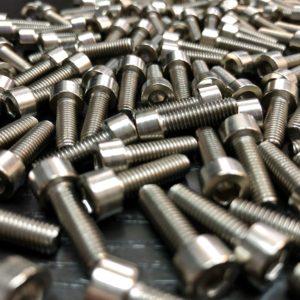 bicycle titanium screw