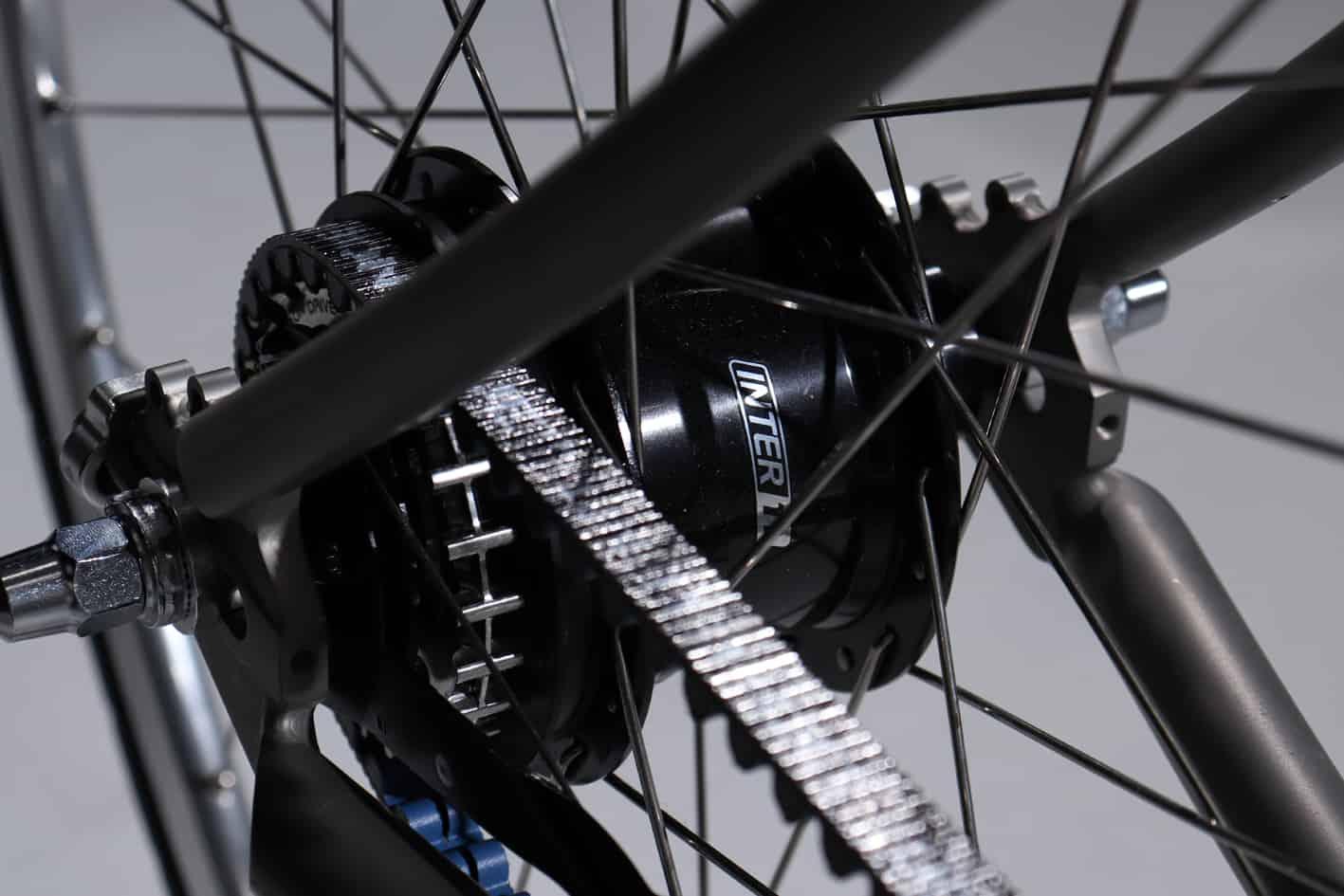 The Urban Bike City Rider titanium CT 9.1