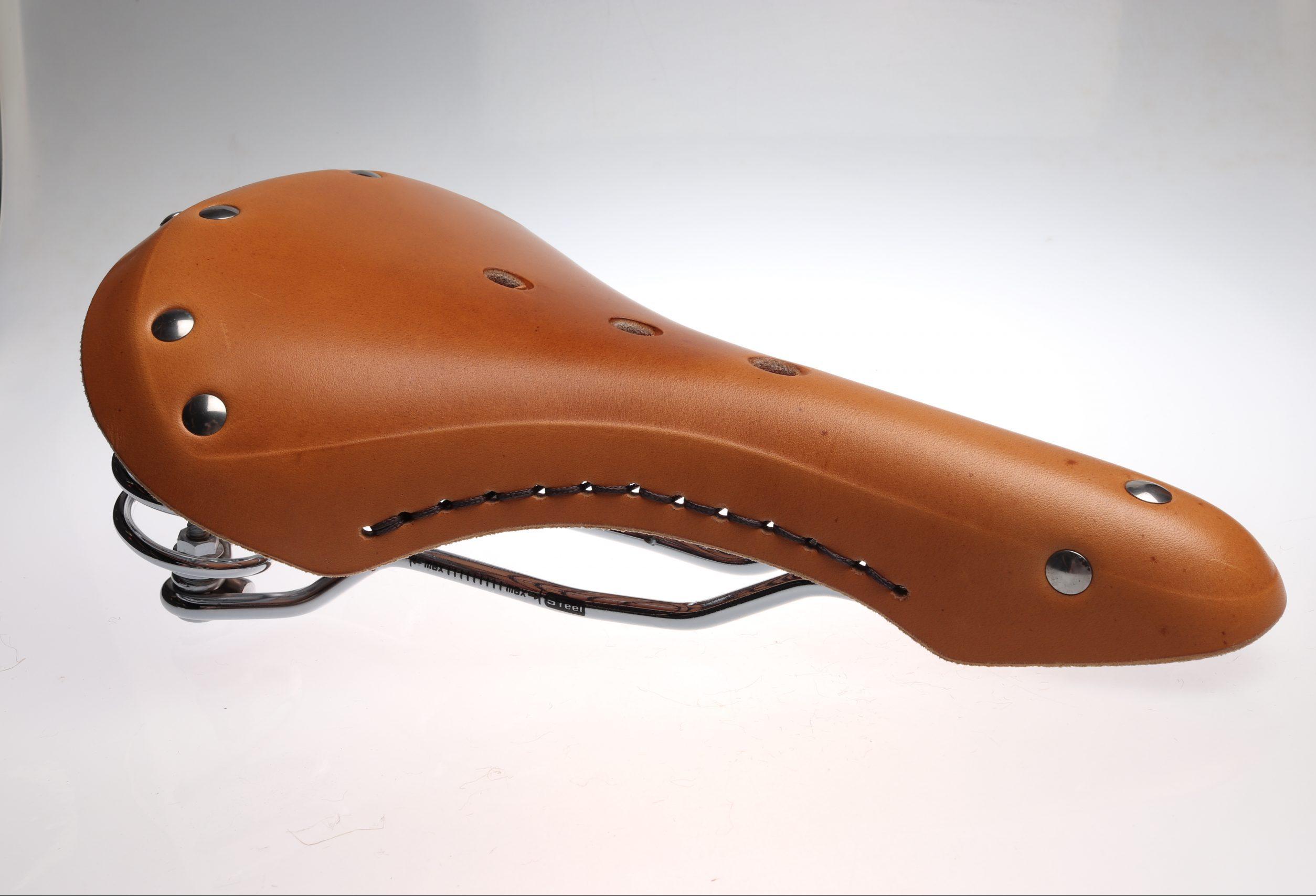 The Urban Bike Leather Spring Saddle